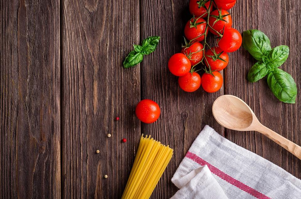 Pasta, gutes Essen
